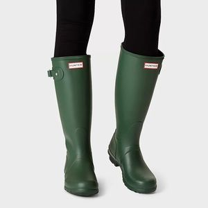 ☔️ HUNTER | Rain Boots in Hunter Green